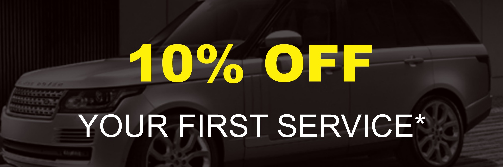 10% Off Your First Service
