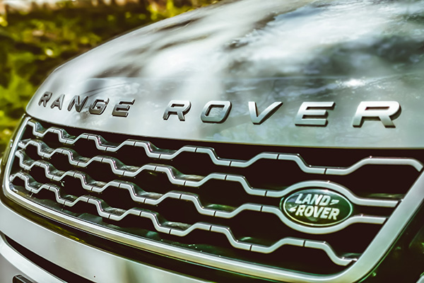 Range Rover vehicle