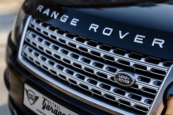 range rover car bonnet